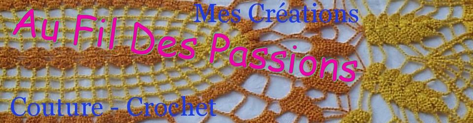 Au fil des passions:Mes créations au crochet et en couture