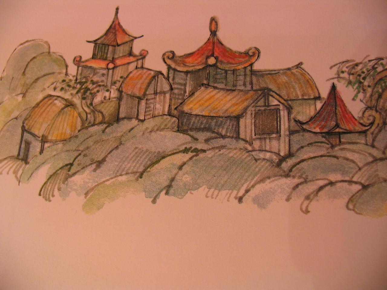 Ming Lo/village