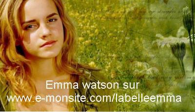 Emma Watson ... on t'aime... reviens en France