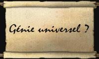 Génie Universel ?