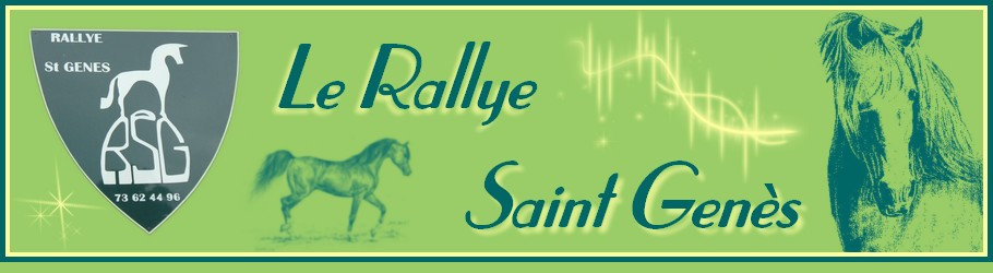 Le Rallye Saint Genès - club hippique associatif en Auvergne