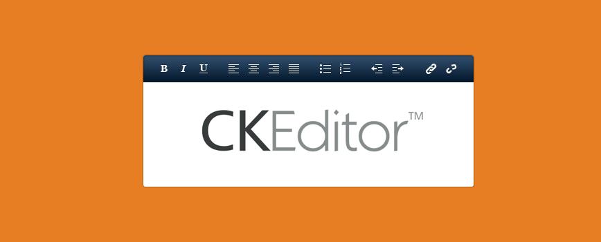 Ck editor