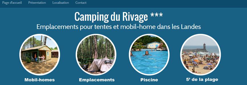 Creer un site de camping