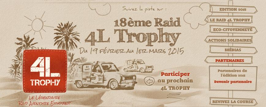 Logo 4L Trophy 2015