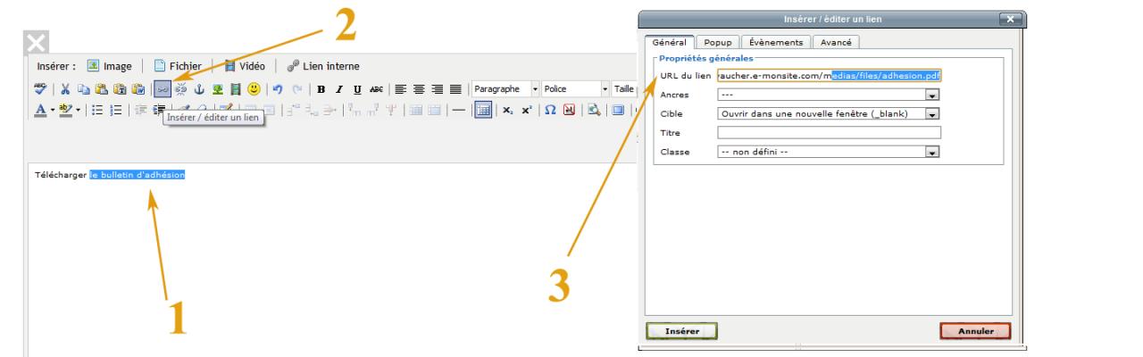 comment faire un lien hypertexte