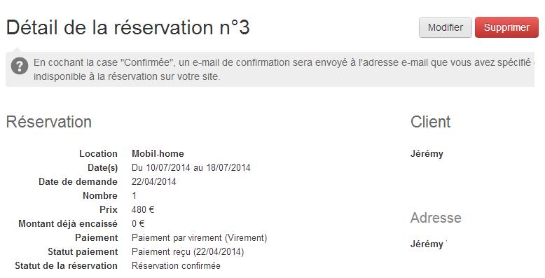 Payer une r servation ou un acompte en ligne for Site de reservation hotel francais