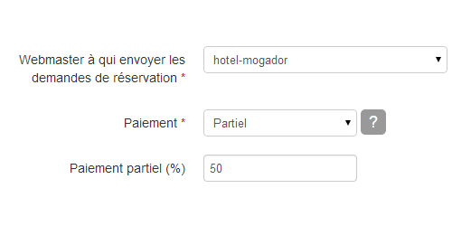 paiement hotel