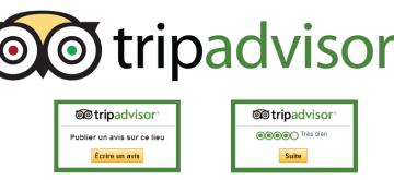 Un widget pour collecter des avis sur TripAdvisor