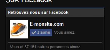 """Bonne nouvelle, le widget """"Facebook : flux de votre page"""" évolue chez e-monsite"""