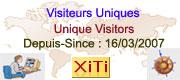 Visiteurs uniques (XiTi)