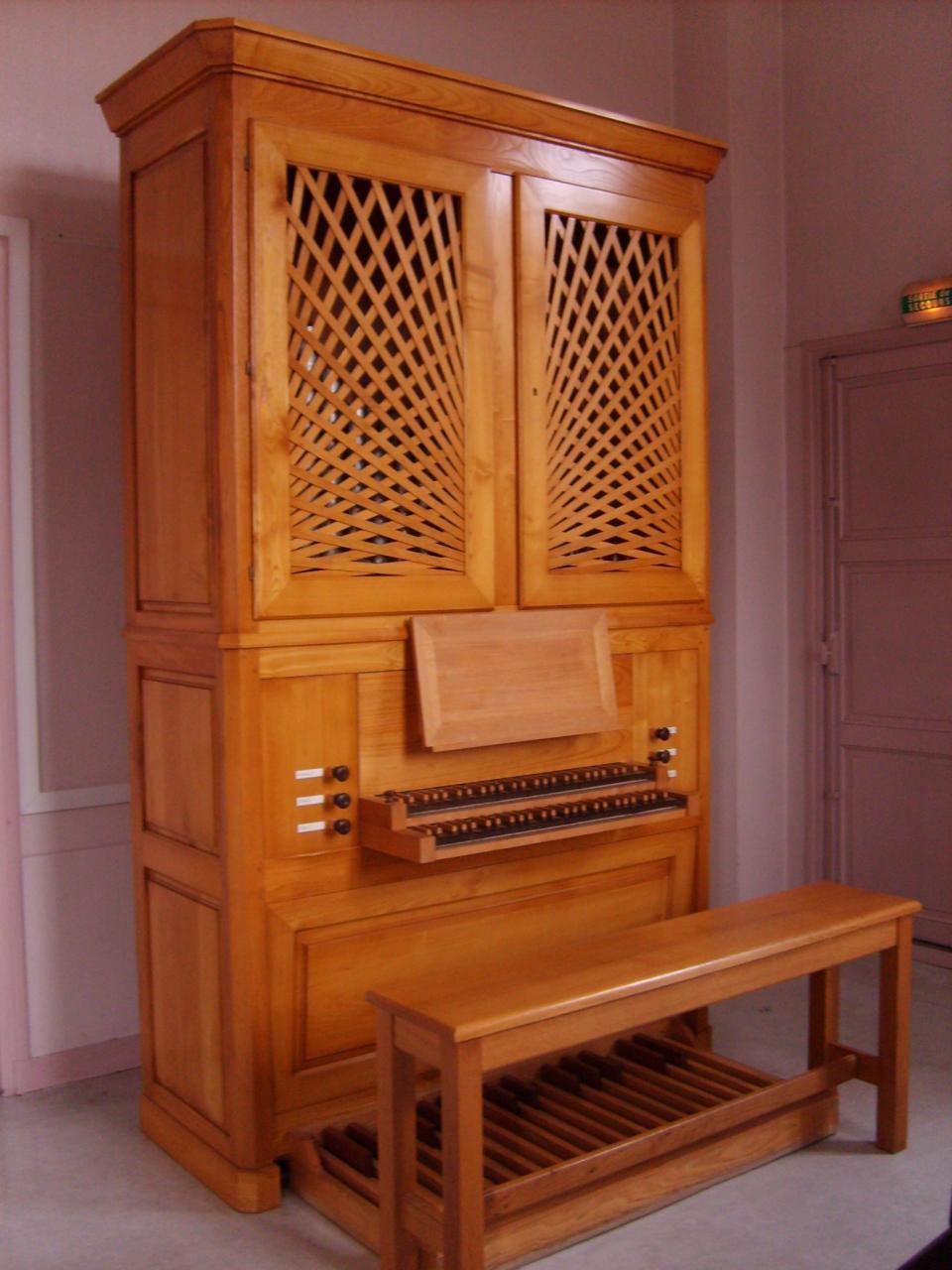 L orgue du conservatoire