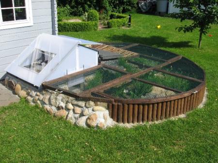 Parc pour juv niles for Amenagement jardin pour tortue