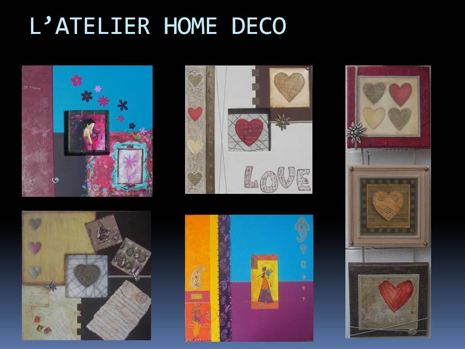 L 39 atelier home deco - Creation tableau deco ...