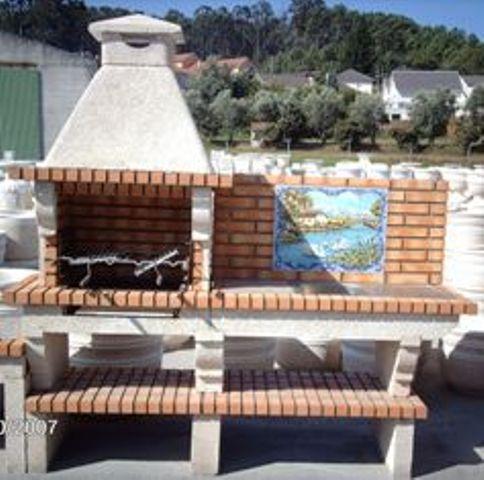 Barbecus en granit et en pierre reconstitu e - Modele barbecue en pierre ...