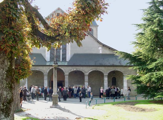 Eglise St Nicolas de Cluses