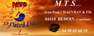 MTS  Jean-Paul CHAUVRAT & Fils  à Bedoin
