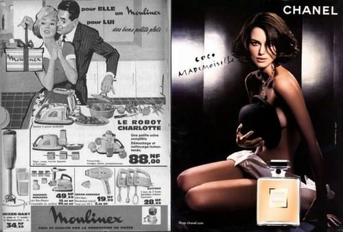 L'évolution de l'image de la femme dans la publicité