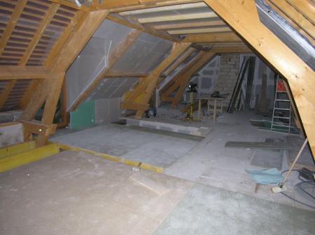 Construction plancher 1 etage for Construction plancher bois etage