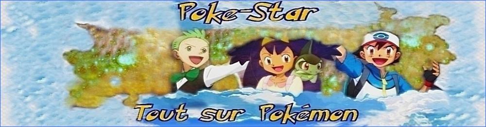 Poke-Star, tout sur pokemon