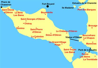 Quelques villes d 39 oleron for Hotel des bains oleron