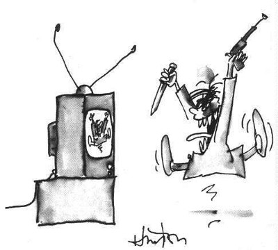 an introduction to the negative effects of television violence on the children in todays society According to marie winn and her essay the plug-in drug, television has various negative effects on our society today in her essay winn explores the ways in which television has harmfully.
