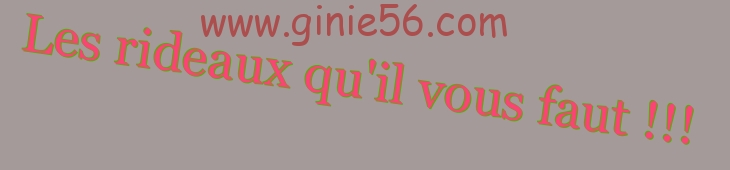 ginie56 La boutique du crochet