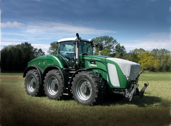 Gros gros tracteur