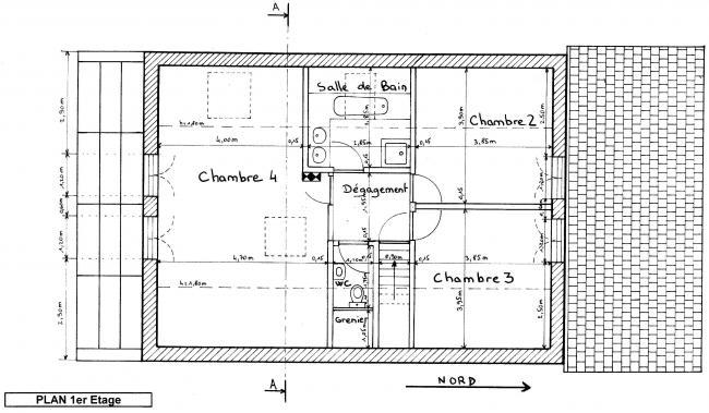 Plan chambre froide maison for Construction chambre froide positive