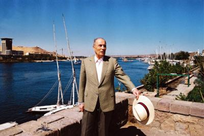 François Mitterrand et l'Egypte.
