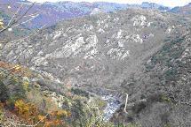 Vue sur les gorges de l'Eyrieux