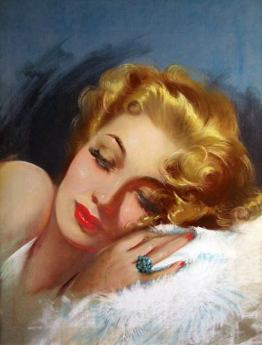 L'atelier du portrait - Fran peintre