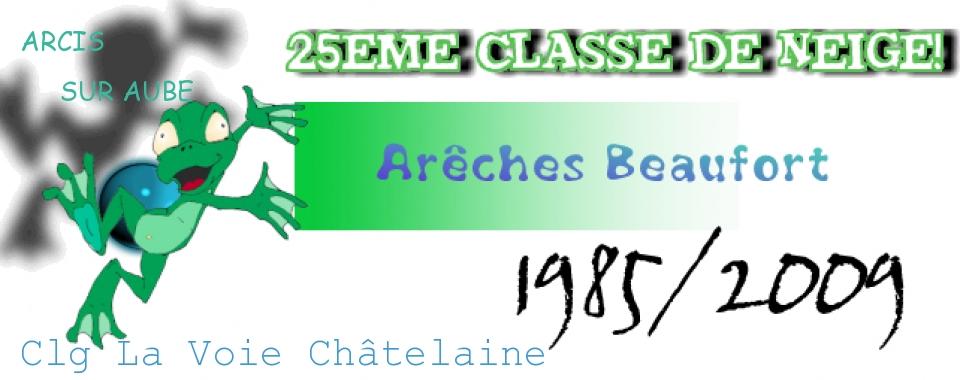 Classe de neige 2009 Arcis sur Aube Clg La Voie Châtelaine