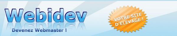 creation jeux virtuels avec Webidev