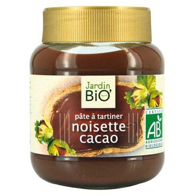 Pâtes à tartiner au chocolat bio