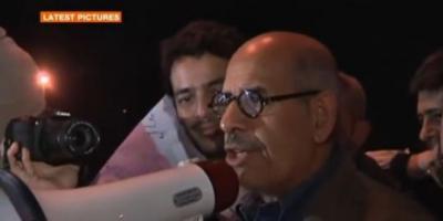 "L'opposant ElBaradei : ""Moubarak doit partir aujourd'hui"""