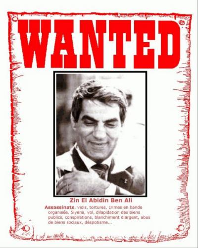 Le procès de Ben Ali débutera le 20 juin