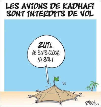 """Libye : """"Kadhafi essaye de jouer au plus malin…"""""""