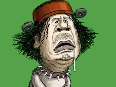 """La Libye ensanglantée: le """"Viva la Muerte"""" de Kadhafi"""