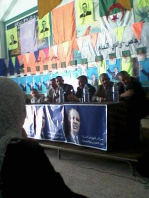 La compagne élctorale aux présidentielles du 09 Avril à Redjas