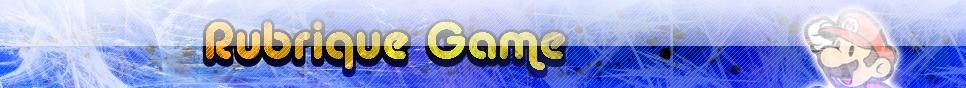 Rubrique Game