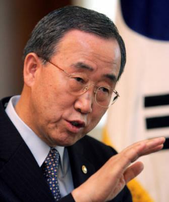 """Ban Ki-moon demande à Israël de cesser ses """"provocations"""" à Jérusalem"""