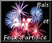 Programme des feux d'artifice et bals sur Fréjus -Eté 2010