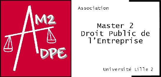 Association Master II Droit public de l'Entreprise - AM2DPE