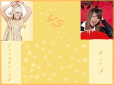 catrnia vs pia  qui vous choisisser !!!!