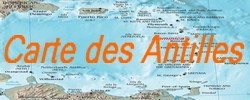 Carte de la Dominique map of Dominica carte des antilles map of West Indies Carte des petites Antilles carte des grandes Antille