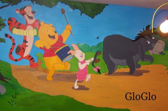Peinture murale enfants for Peinture murale enfant