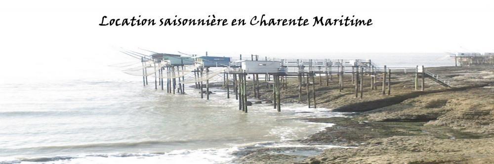 Location saisonnière Charente Maritime