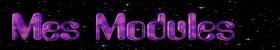 Mes modules