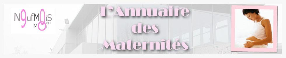 Annuaire des maternités