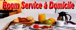 ROOM SERVICE A DOMICILE petit dejeuner livré particulier entreprise Chef Cuisinier se déplace à domicile menu vins conciergerie